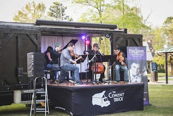 Truck Concerts, Drive-in Concerts: Creativity and Innovation in the Time of Covid