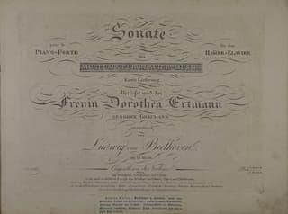 Beethoven's A-major sonata Op. 101
