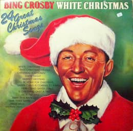 """Several years before his biggest hit """"White Christmas,"""" Crosby recorded """"Silent Night."""""""