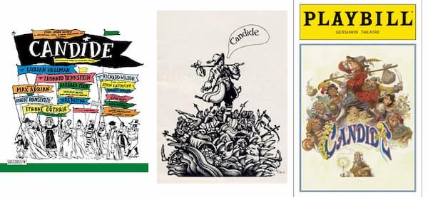 Candide, 1956/1973/1997