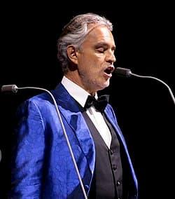 "Enjoy Andrea Bocelli's emotional performance of ""Silent Night"""