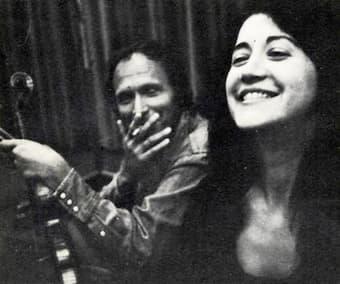 Ivry Gitlis with Martha Argerich, 1976