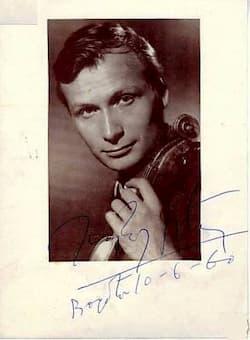 Ivry Gitlis, 1960