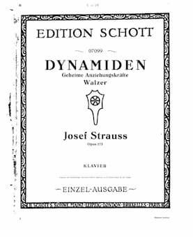 Josef Strauss' Waltz Dynamiden