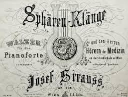 Josef Strauss' Music of the Spheres