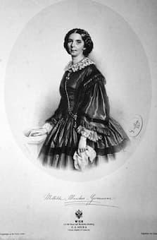 Mathilde Marchesi, Dorothea's niece