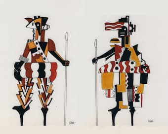 Darius Milhaud teamed up with cubist artist Fernand Léger and author Blaise Cendrars for the ballet La Création du Monde