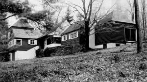 "Samuel Barber's home ""Capricorn"" in upstate New York"
