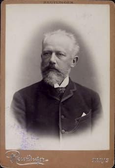 Reutlinger: Pyotr Ilyich Tchaikovsky, ca. 1888