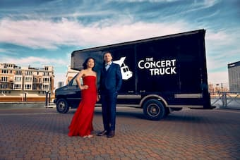 The Concert Truck, founded by Nick Luby and Susan Zhang