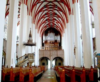 Interior of St. Thomas Church