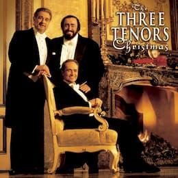"""""""Three Tenors"""" Plácido Domingo, José Carreras, and Luciano Pavarotti Christmas Album"""