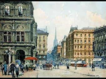 Listen to Josef Strauss' musical Viennese Aquarelle