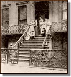Antonín Dvořák and his family in New York, 1893