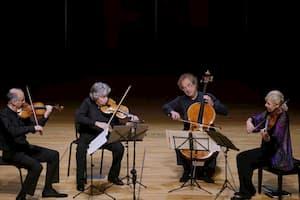 Takács Quartet performs Beethoven's string quartets