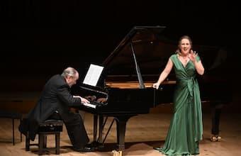 Diana Damrau & Helmut Deutsch performing at Barbican Hall