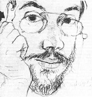Alexandre Benois: Self-Portrait (1893)