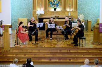 Alicia Crossley & The Acacia Quartet