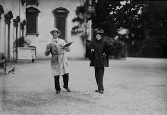Umberto Boccioni and Ferruccio Busoni at Pallanza