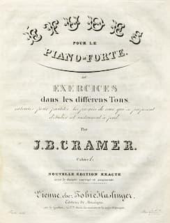 Johann Baptist Cramer's Etudes for Piano forte