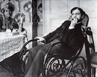 Claude Debussy, composer of the Two Arabesques