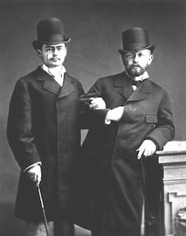 Pyotr Ilyich Tchaikovsky and Yosif Kotek