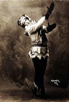 Nijinsky as Petrushka (1911)