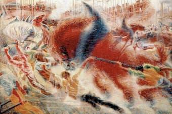 Boccioni: The City Rises (1910) (New York: Museum of Modern Art)