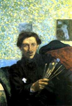 Boccioni: <em>Umberto Boccioni (self-portrait)</em> (1905)