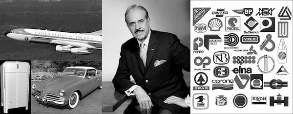 Raymond Loewy and his famous designs