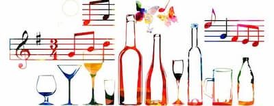 Friendship Between Alcohol and Music