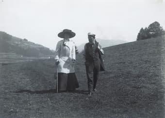 Alma and Gustav Mahler