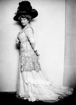 Alma Mahler in 1909