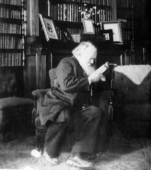 Johannes Brahms, c. 1894