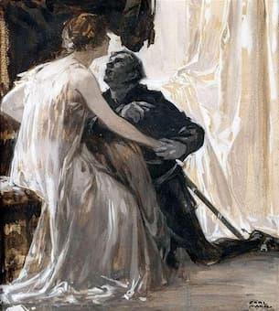 Tristan und Isolde by Carl von Marr