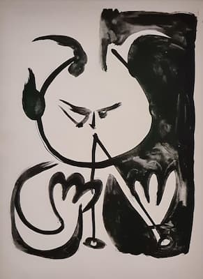 Picasso: Faune Musicien No. 5 (1948) (Paris: Musée national Picasso)