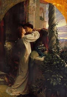 Romeo and Juliet balcony scene 1884