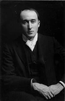 Frederick Delius, composer of the Four Old English Lyrics (Bergen Public Library collection)