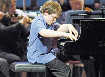 Benjamin Grosvenor at BBC Young Musician of the Year 2004