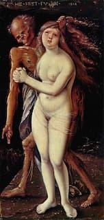 Hans Baldung, Death and the Maiden, 1517