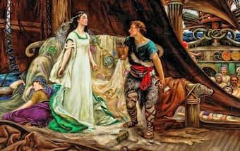 Tristan and Isolde by Herbert James Draper