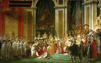 David: The Coronation of Napoleon (1807)