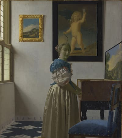 Musicians and Artists: Carpenter and Vermeer
