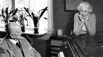 Jean and Aino Sibelius