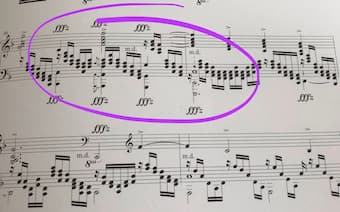 Understanding both physical and 'psychological' dynamics from this transcription of Mahler's symphony