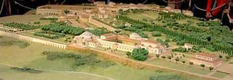 Model of Hadrian's Villa
