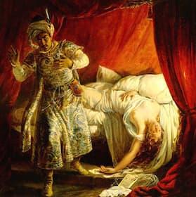 Otello and Desdemona