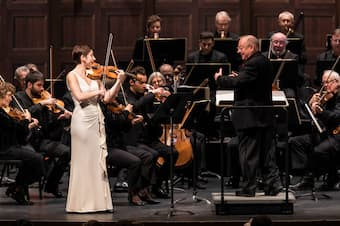 Alana Youssefian performs with Philharmonia Baroque Orchestra at the Granada