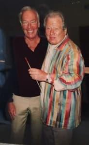 Christopher Plummer with Sir Neville Marriner