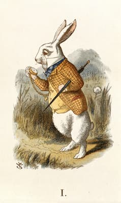 Tenniel: The White Rabbit